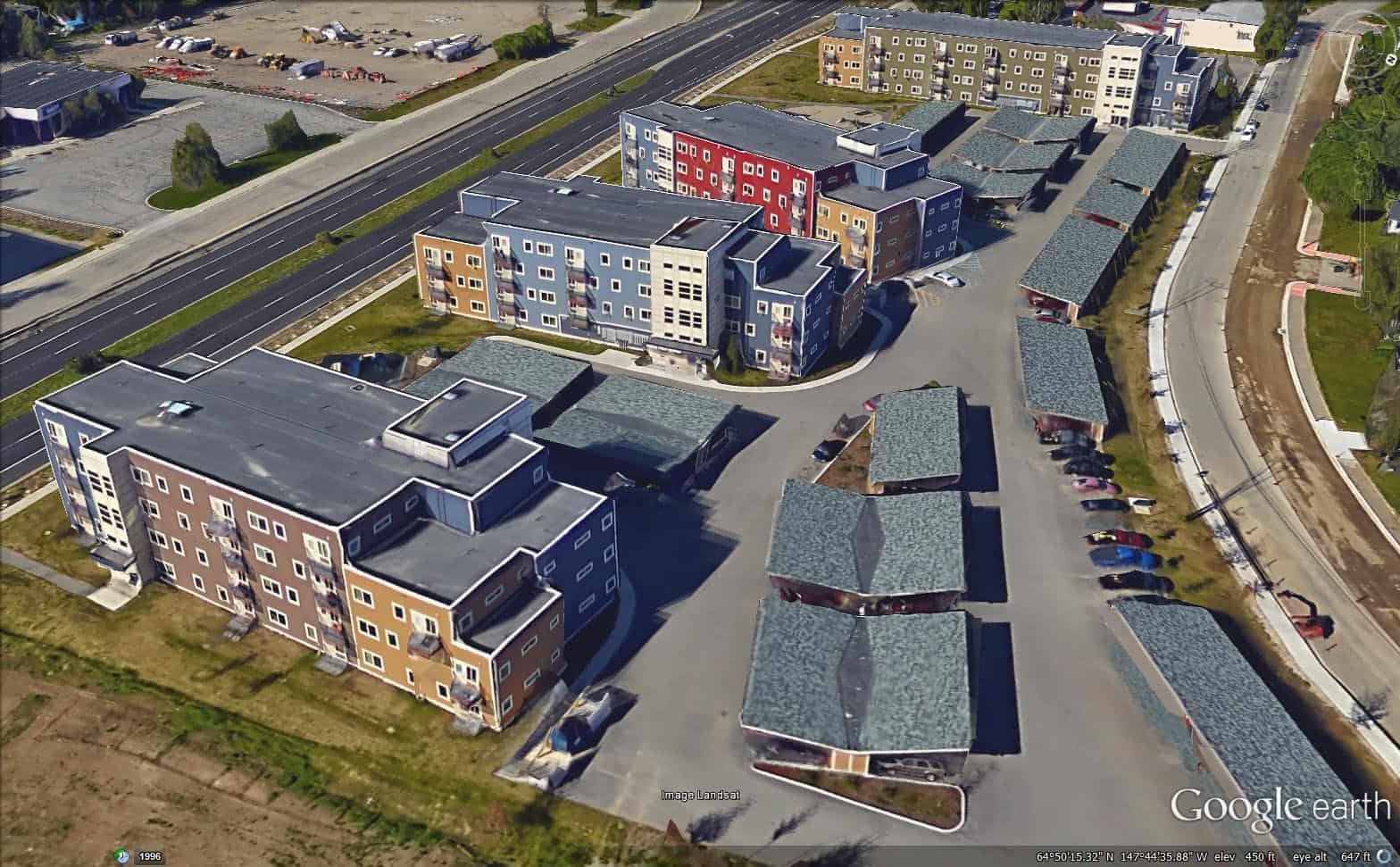Weeks Field Estates Google Earth 5
